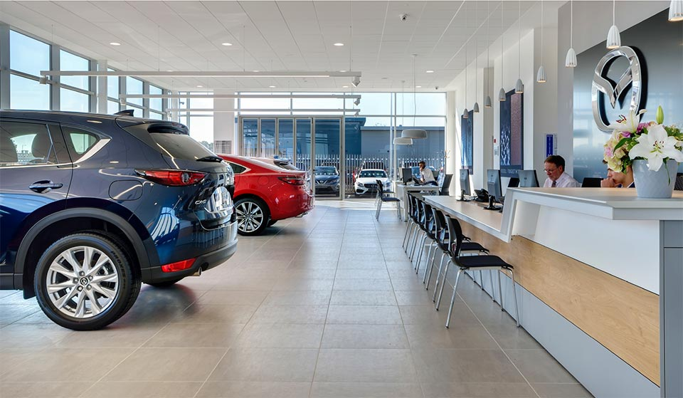 Intruder alarms and cctv for car showroom