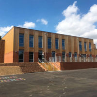 Latest fire alarm system for brand-new school building
