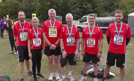 CamAlarms Chariots of Fire running team