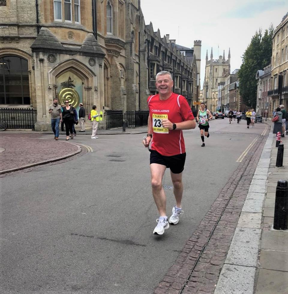 Chris Mantell - CamAlarms Chariots of Fire running team